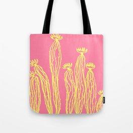 Cactus 52 lachs yellow Tote Bag
