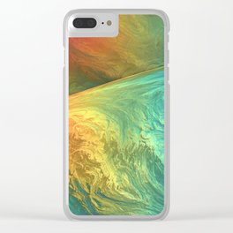 Color Storm Clear iPhone Case