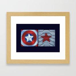 Captain Soldier Framed Art Print