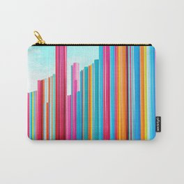 Colorful Rainbow Pipes Carry-All Pouch