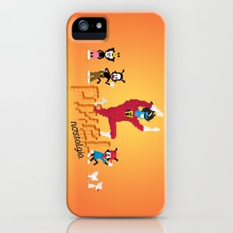 WB Pixel Nostalgia iPhone Case