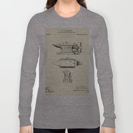 Combined Anvil and Vise-1877 Long Sleeve T-shirt