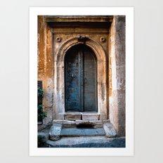 Ancient Entrance Art Print
