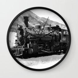 Durango - Silverton Engine 480 Wall Clock