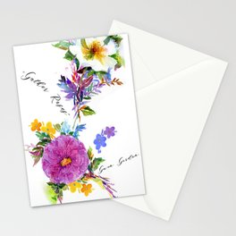 Gather Roses Stationery Cards