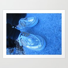 Vans gone fresco Art Print