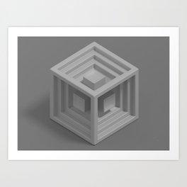 Cube 13 Art Print