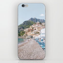 Amalfi Coast Beach iPhone Skin
