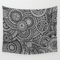 fibonacci Wall Tapestries featuring Raindrops by Eurimos