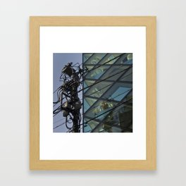 Prada with Transformer Framed Art Print