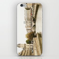 Le Seine River in Paris. iPhone & iPod Skin