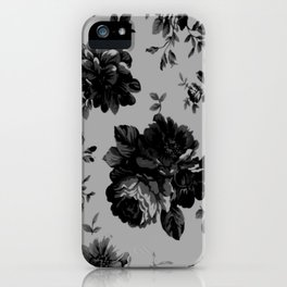 Gothic Floral iPhone Case