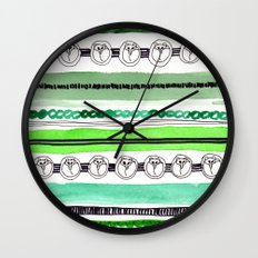 Pattern / Nr. 4 Wall Clock