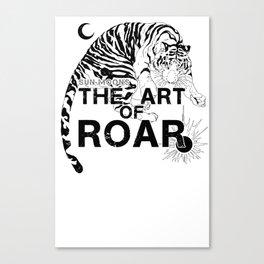 THE ART OF ROAR Canvas Print