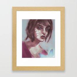 life is strange ¦ max caulfield Framed Art Print