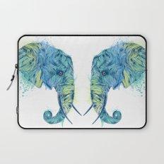 Elephant Head II Laptop Sleeve