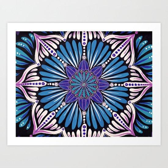 energy flows Art Print
