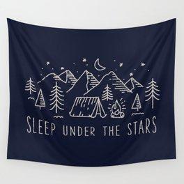 Sleep under the stars Wall Tapestry