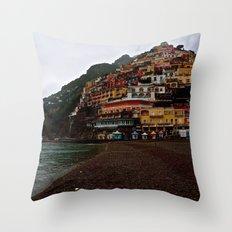Positano: Amalfi Coast, Italy Throw Pillow