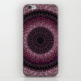 Rosewater Tapestry Mandala iPhone Skin