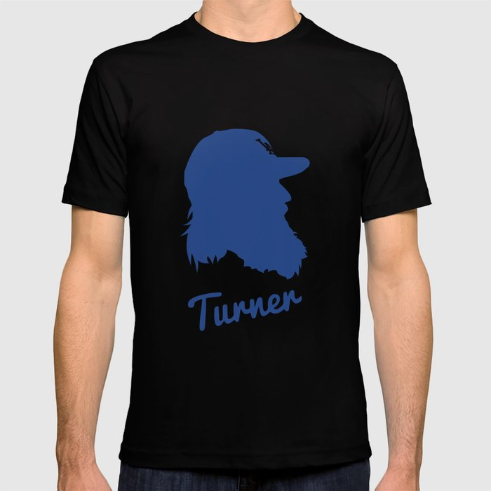 Justin Turner T-shirt by ericlugo  07f70fd358c