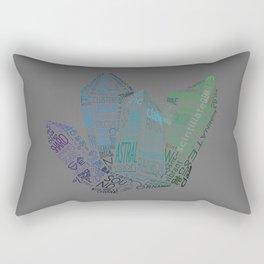 Crystaline Rectangular Pillow