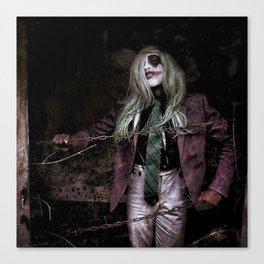 Joker Cosplay 3 Canvas Print