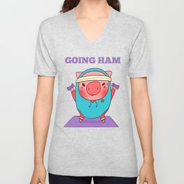 Going Ham Unisex V-Neck