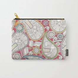 book paisley Carry-All Pouch