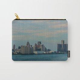 Detroit cityscape Carry-All Pouch