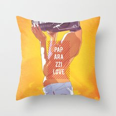 Paparazzi Love Throw Pillow