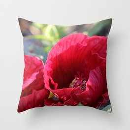 Kingdom Of Red Throw Pillow