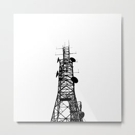 Power Tower Metal Print