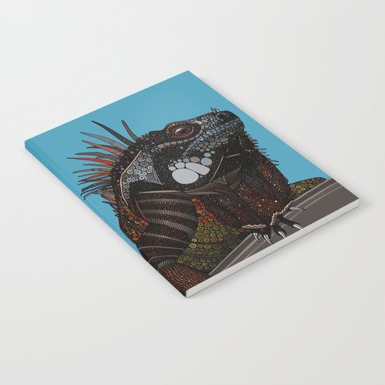 iguana blue Notebook