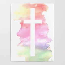 Cross- Landscape / Sunset Poster