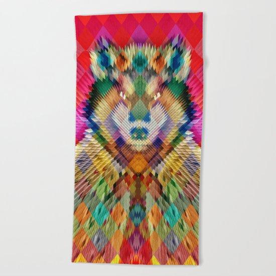 Corporate Wolf Beach Towel