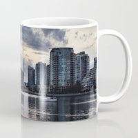vancouver Mugs featuring Vancouver  by amberino