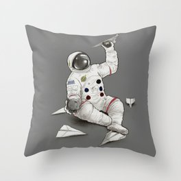 Astronaut in Training Throw Pillow