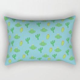Cacti Pattern  Rectangular Pillow