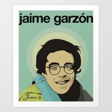 JAIME GARZÓN Art Print
