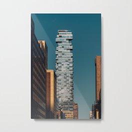 56 Leonard street and modern skyscrapers in Financial District Metal Print