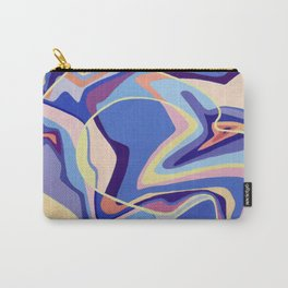 Dancing blue Carry-All Pouch