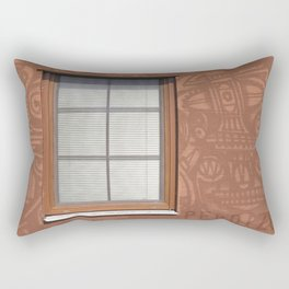 "Perdizes - Series ""Districts of São Paulo"" Rectangular Pillow"