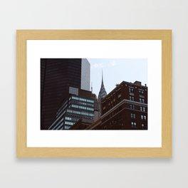 Chrysler Building Obscured Framed Art Print