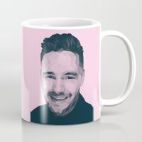 liam payne Mugs featuring Liam Payne - One Direction by jrrrdan