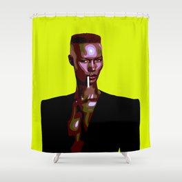 Warm Leatherette Shower Curtain