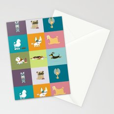 Who let the dogs out? Stationery Cards
