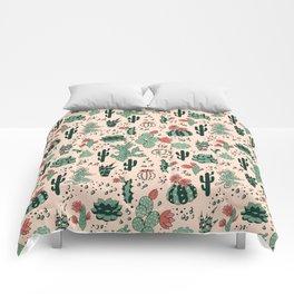Succulent Desert Comforters