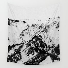 Minimalist Mountains Wall Tapestry