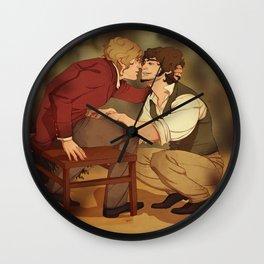 Enjolras/Grantaire Wall Clock